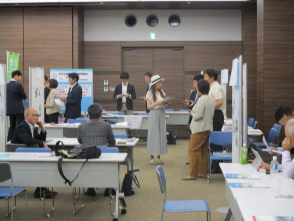 外国人材国際コンベンション ブース